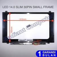 LCD LED Asus A405 A407 A407U A407UA A07MA X407MA N140BGA-EA4