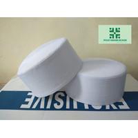 Peci Kopiah Batok Anak Peci Habib bahar bin Smith - Putih tinggi 8-9cm