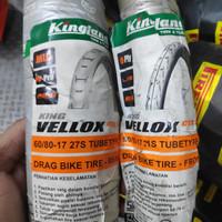 Ban Drag Kingland King Vellox 60/80-17 + 50/90-17