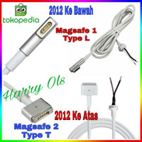 KABEL CHARGER APPLE DC CABLE 60W MAGSAFE L-T MACBOOK PRO/AIR 2009-2015