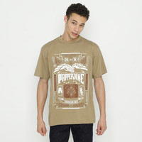 Papperdine Jeans TL0120 Chocolate Logo T-Shirt FW20 24S Kaos Pria