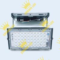LAMPU SOROT LED FLOODLIGHT LAMPU TEMBAK OUTDOOR 50W 50W 50WATT 50 WATT - Putih