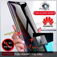 tempered glass huawei spy p40 pro anti spy+ tempered glass kamera