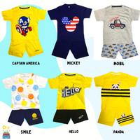 Baju Setelan Anak Laki Laki Umur 1-10 Tahun