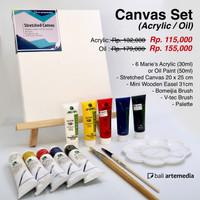Bali Artemedia Canvas Set (Acrylic / Oil)