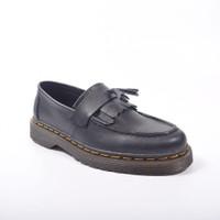 SEPATU KULIT AZCOST FOOTWEAR LOAFER BLACK ORIGINAL