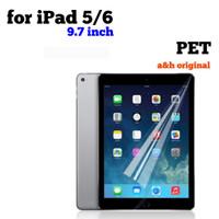 PET Screen Guard Apple iPad 5 6 9.7 inch Antigores Anti Gores Premium