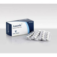 Anazole 1mg x 30 tablets Alpha Pharma Authentic Arimidex AlphaPharma