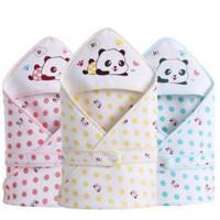 Selimut Topi Bayi Berkualitas Blanket Gambar Panda Bahan Nyaman