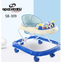 Pacific Baby Walker Spacebaby SB-309 Murah Meriah dan Bagus Ada Mainan