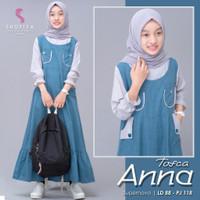 ANNA KIDS Baju Muslim Dress Anak Perempuan Termurah Usia 12 - 14 Tahun