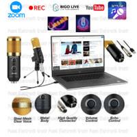 Microphone-Mic Condenser BM-900 Usb Recording Podcast smule BM900