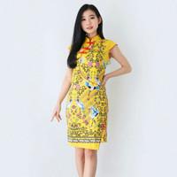 Dress Batik Wanita/Dress Batik Cheongsam 609/608