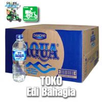 aqua botol 600ml 1 dus