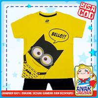 Baju anak laki-laki / Setelan anak laki-laki motif Batman Minion 1-10