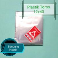Plastik Toros panjang 12x35 / 12x40 / 12x50 PP 03 kerupuk / terompet