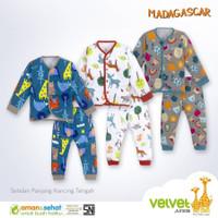 VELVET JUNIOR PANJANG SETELAN BAYI/MADAGASKAR/ BAJU BAYI/SETELAN ANAK