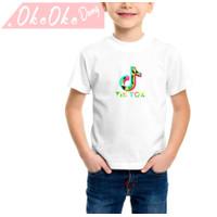 Kaos anak laki2/ Baju tiktok/ kaos musical/ Baju kekinian/ Kaos murah