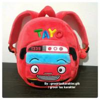 Tas Anak Karakter Tayo The little Bus 2 Rest M Ransel Backpack Import