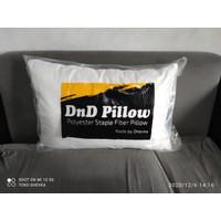 Bantal Tidur Dakron Putih dan Motif Merek DnD Pillow Harga Satu Pcs