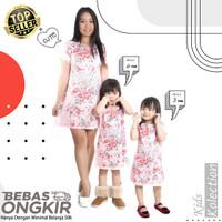 Baju anak Perempuan SuperGirl Pink / Dress anak import murah lembut