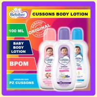 Cussons Baby Body Lotion 100ml / Cussons Lotion Kulit Bayi / BEBIBER - Lotion Pink 100