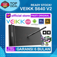VEIKK S640 Digital Graphic Drawing Pen Tablet OSU Alt H420 G430 G640