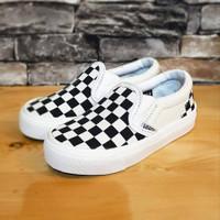 Sepatu anak laki laki Vans Slipon (Premium) Ready Size 16-35