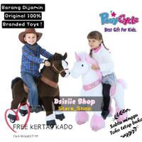Pony Cycle Ride on / Pony Cycle Goyang / Mainan Naik Kuda kudaan