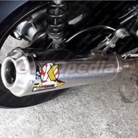 Knalpot Kawahara Racing GT Pro Motor Yamaha NMAX New Vario 150
