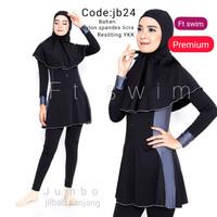 baju renang jumbo- big size-baju renang wanita muslim dewasa-muslimah