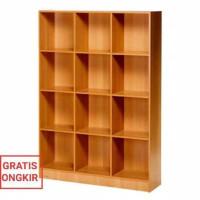 Unik Rak Buku Besar Rak Penyekat Ruangan Activ Limited