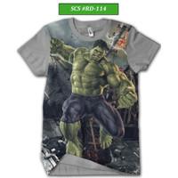 Kaos Hulk Series Atasan Pria Remaja Dewasa #RD-114