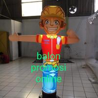 Balon Sky Dancer Karakter 13 in tinggi 2m ( Balonnya aja )