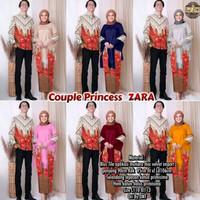 COUPLE PRINCES AZAHRA COUPLE KEBAYA BRUKLAT BAJU KONDANGAN SARIMBIT