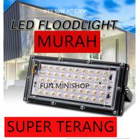 LAMPU SOROT 50W 50WATT FLOODLIGHT OUTDOOR AWET SUPER TERANG!!!