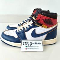 Air Jordan 1 Retro High Storm Blue x UNION - PK GOD 1:1 AUTHENTIC