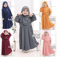 Setelan Baju Busana Balita Muslim Gamis Anak Perempuan Umur 1-4 Tahun