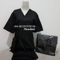 SIZE BESAR XXL-5L/Baju OK/ Lengan Pendek /Hitam /Merk Dua Saudara