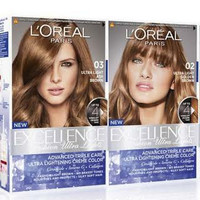 Loreal Paris Excellence Hair Color - Semir Rambut - 03 ASH BROWN