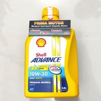 OLI SHELL ADVANCE AX5 MATIC SCOOTER 10W-30 0.8L