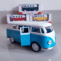 Diecast Mobil VW Comb1 Alloy - Mainan Miniatur Volkswagen Car Klasik