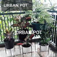 Rak Pot Bunga Tinggi 50 cm Kaki 4