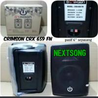 SPEAKER BOX CRIMSON CRX 659 FN SPEAKER PASIF 6 INCH CRX 659 FN