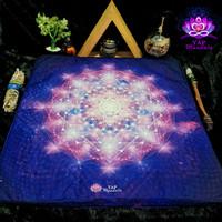 Bantal Alas Duduk Meditasi Mandala Spiritual Purifying Vibration