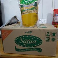 Sania Minyak Goreng 2L Kemasan Karton isi 6