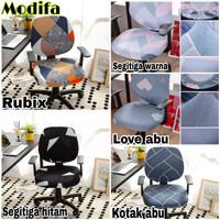 Cover kursi kantor elastis-Sarung kursi putar OFFICE CHAIR