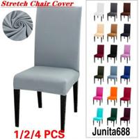 ELastis CHAIR COVER size M / Sarung PENUTUP kursi makan
