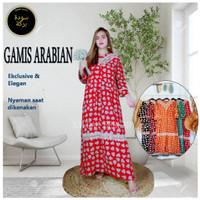 BAJU DASTER ARAB GAMIS ARABIAN MAXI RAYON LONG DRESS LONGDRESS