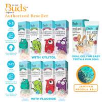 Buds Organic Oral Gel Toothpaste 1-3Y 3-12Y Odol Bayi Anak ORIGINAL